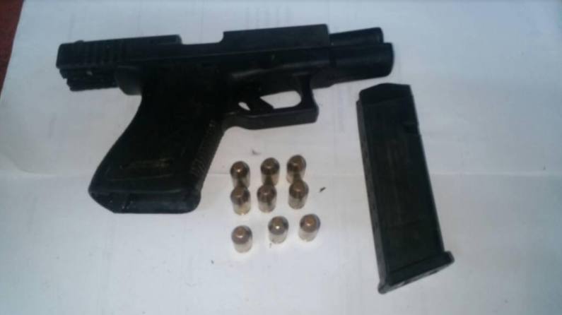Armed bandit nabbed by Police moments after robbery at Mahaicony