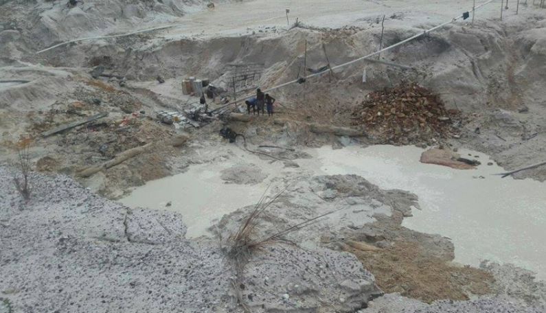 Miner dies in Mahdia mining pit collapse at White Hole
