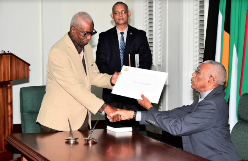 President's appointment of Justice Patterson as GECOM Chairman flawed  -CCJ
