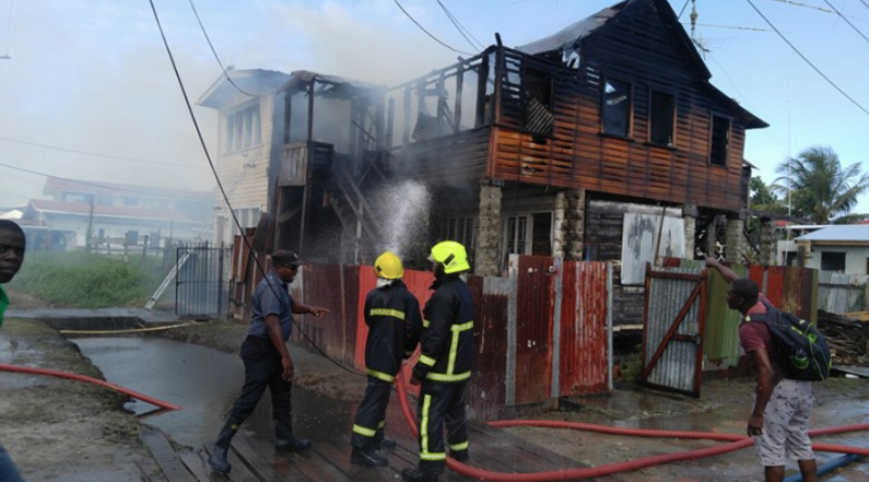 Mid-morning Durban Street fire under probe as owner is left counting losses