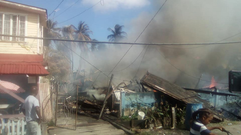 Plaisance fire leaves over 30 persons homeless