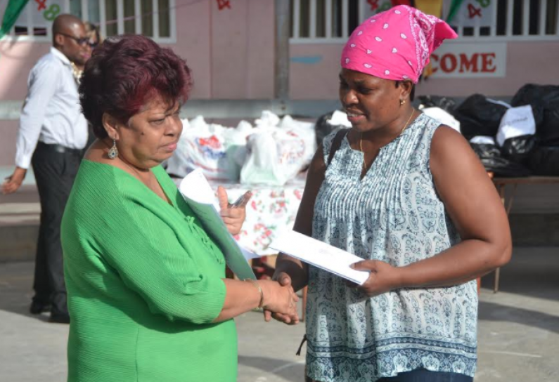 Plaisance fire victims receive help from Government