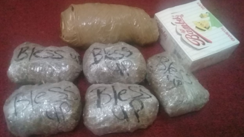 """Bless Up"" Marijuana found outside NA Prison; New Cutlass and knife found at Lusignan Prison"