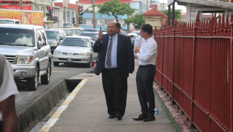 Brassington present, Ashni Singh absent as new misconduct in public office charge is filed