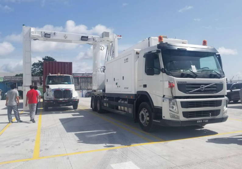 GRA Commissions new Container Scanner