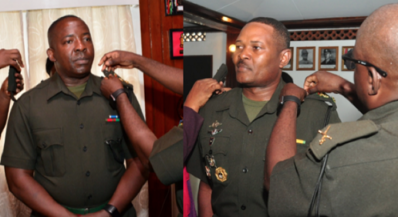 Two GDF Officers promoted to Colonels