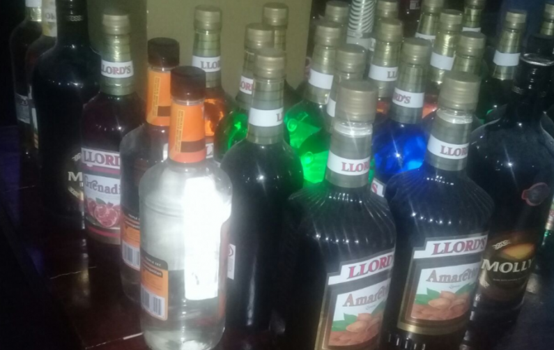 Berbice nightclub manager and six foreign nationals held for suspected trafficking in persons case; Illegal liquor also seized