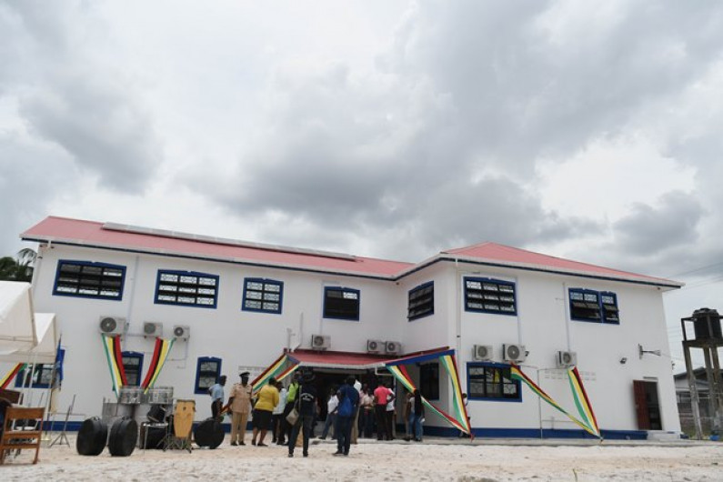 New Mackenzie Police Station Commissioned