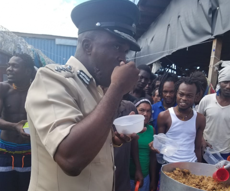 Lusignan Prison returns to calm after night of riotous behaviour by protesting prisoners