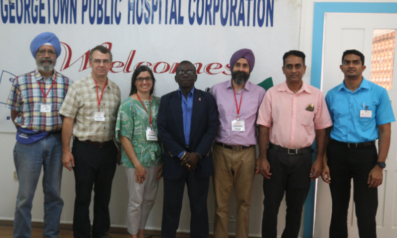Medical Mission assists G/town Hospital in clearly long list of persons for joint replacement surgeries