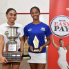 Guyanese sisters take sibling rivalry to Jamaica Squash Championships