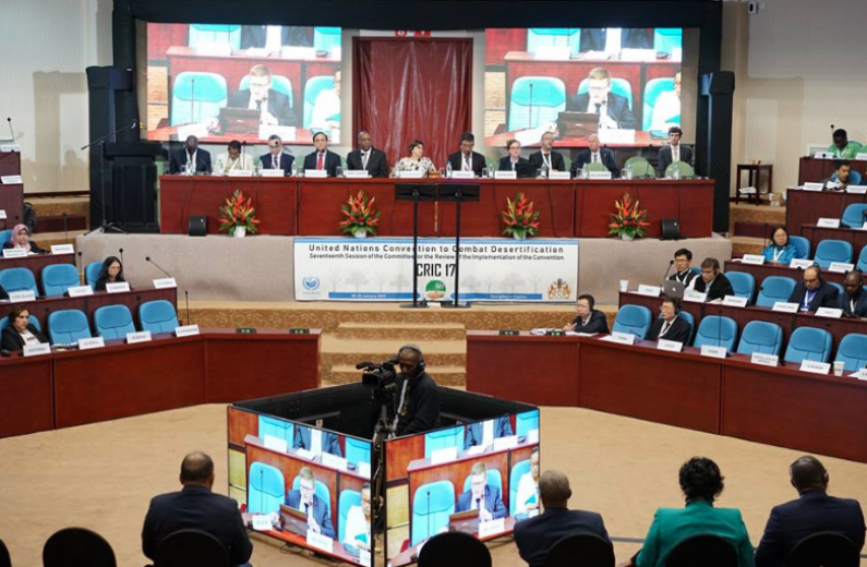 Major UN Conference on Land Management and Impact of Climate Change opens in Guyana