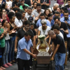 Brazil school shooting: Thousands attend wake for victims