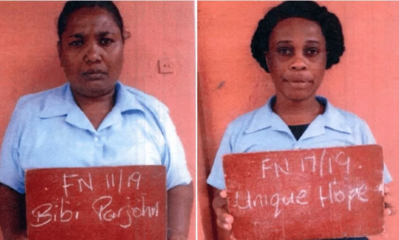 Two female prisoners granted Presidential pardons for Independence