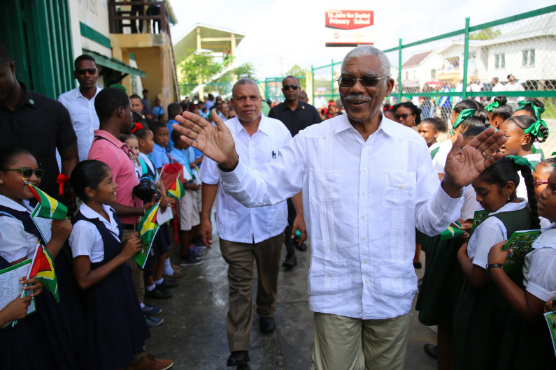"""""""We will be heading to the Polls…but not with current list"""" -President David Granger"""