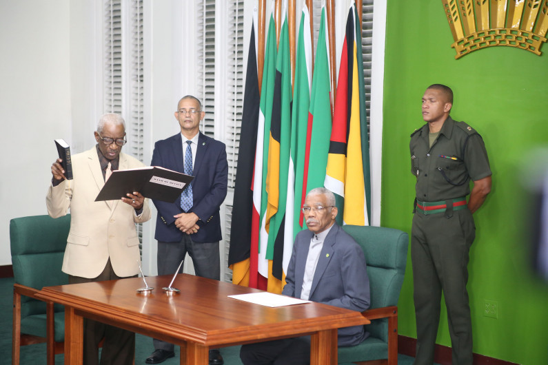 President believes CCJ should identify flaws in the appointment of GECOM Chairman
