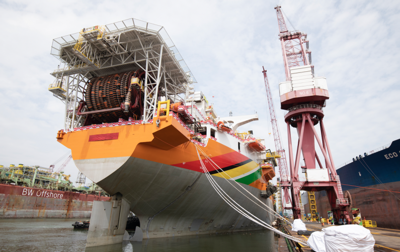 Exxon's oil production vessel for Guyana Commissioned