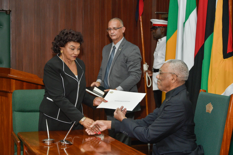 "PNCR welcomes appointment of ""independent"" Justice Claudette Singh as GECOM Chair"