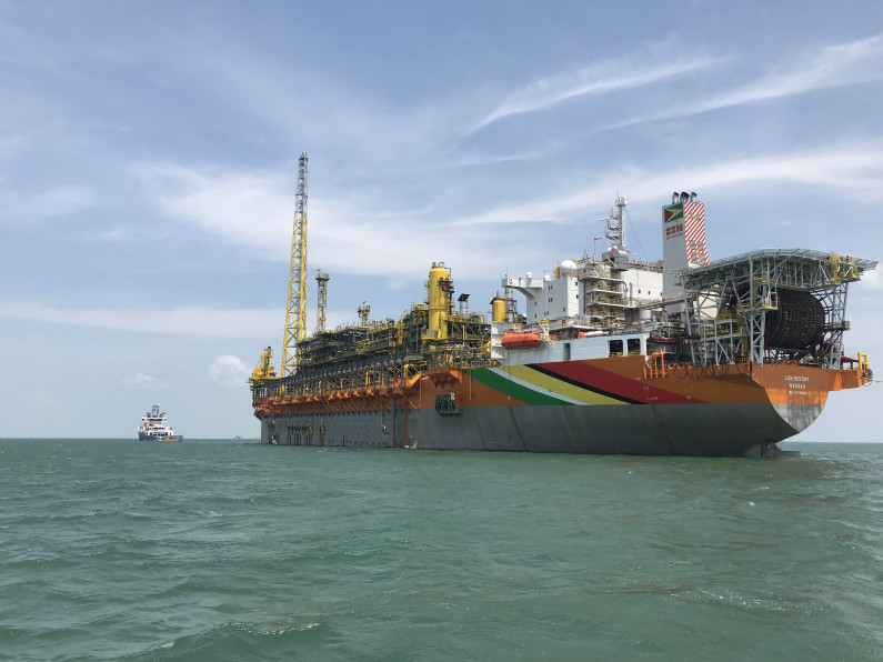 Exxon's Oil Production Vessel to arrive in Guyana in September