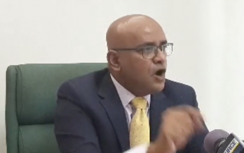 """I've helped more Afro-Guyanese than Eric Phillips ever will"" . -Jagdeo"