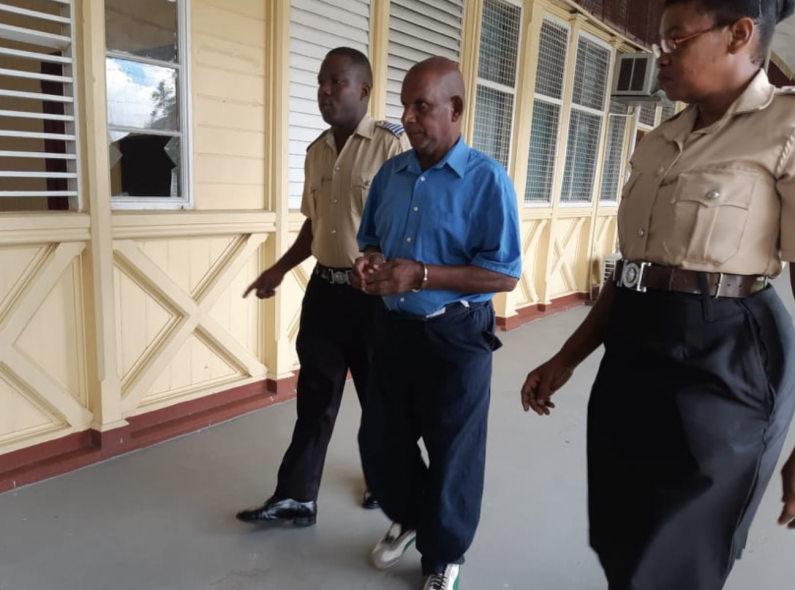 20-years in jail for 63-year-old man who raped 4-year-old girl