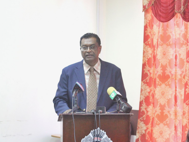 No member of the Police Force is immune to the law -warns Ramjattan