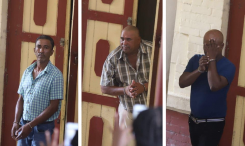 Three men remanded to jail over 5lbs cocaine bust