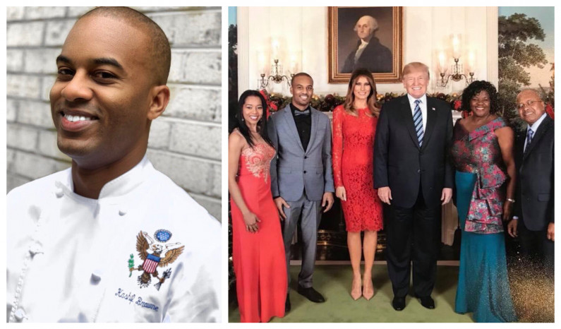 Guyanese Chef creating a stir at The White House