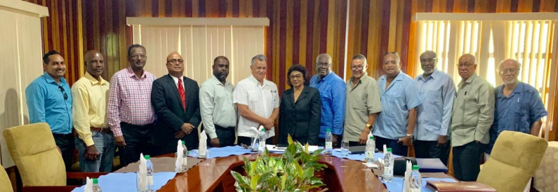 GECOM Chair assures PSC of Commission's commitment to early elections and credible list