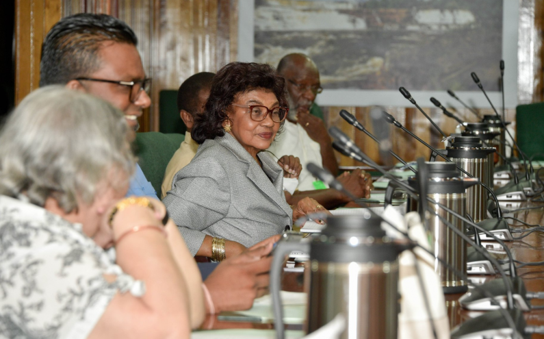 President assures GECOM of Government's non-interference in its independence