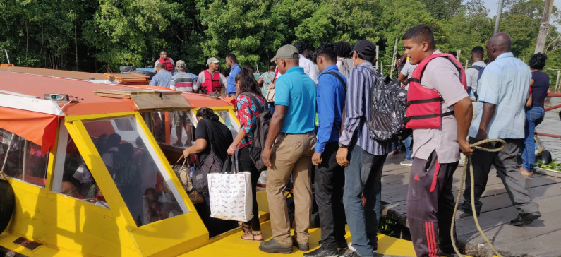 River taxis to operate until 10 pm as Demerara Harbour Bridge remains closed