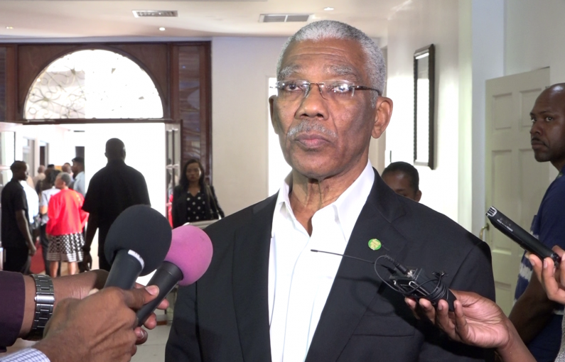 Allow Government of Guyana to Resolve issues…I am not in breach of Constitution -says Pres. Granger