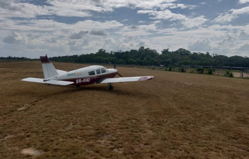 Small plane crashes in interior location; Search and Rescue operation activated
