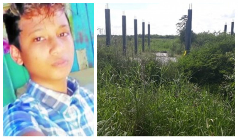 Rice farmer confesses to  murder of 14-year-old boy and burying body in shallow grave
