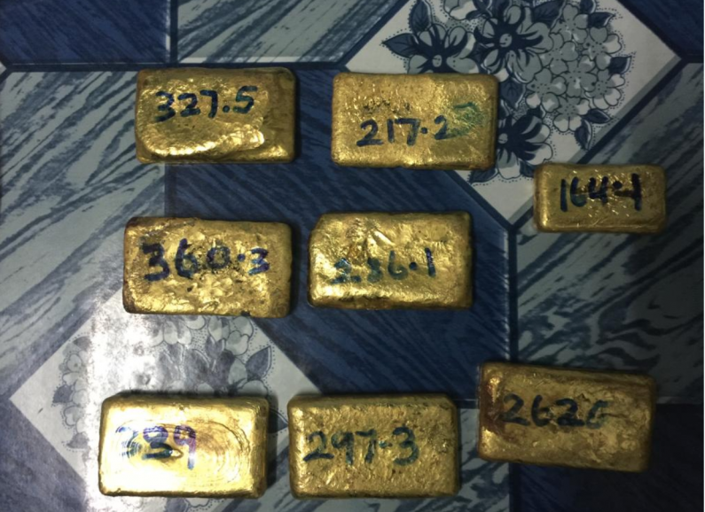 Suspects nabbed with raw gold and guns one day after Matthew's Ridge Robbery