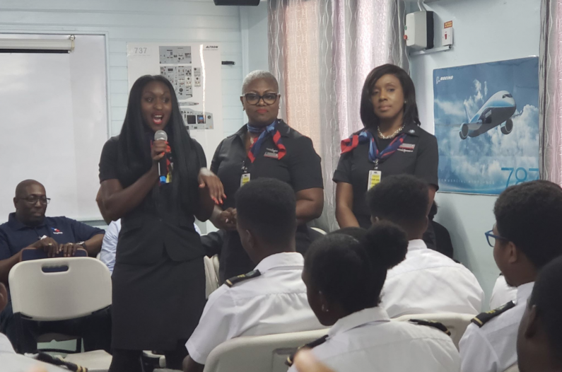 American Airlines Caribbean Employees Group host safety seminar in Guyana