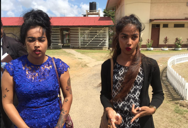 """""""Watch Us"""" Corentyne sisters on bail as they face 10 charges"""