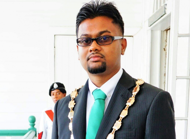 Ubraj Narine reelected Mayor of Georgetown