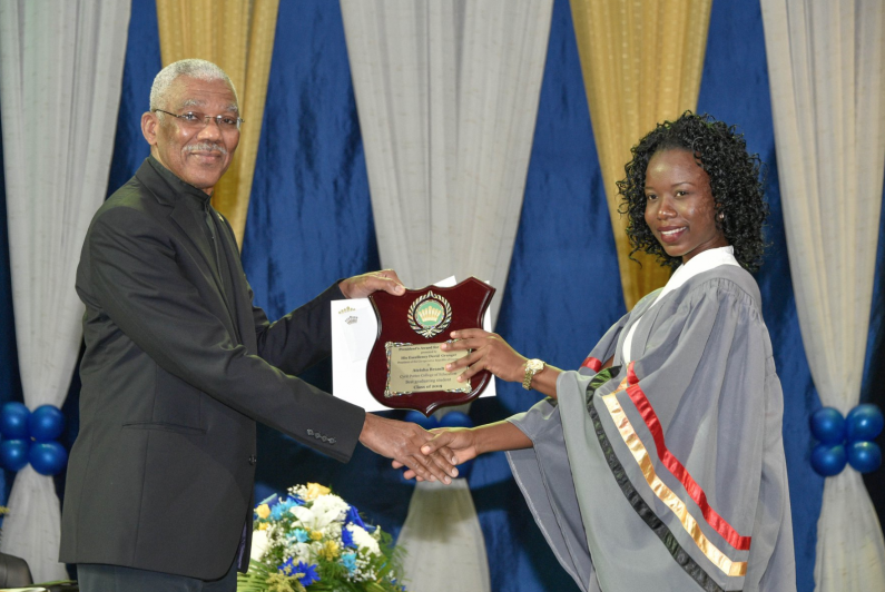 President pushes plan to ensure only trained teachers in education system as Cyril Potter College graduates 377 new teachers