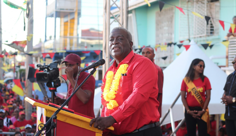 Confident Phillips declares he will be the next Prime Minister of Guyana