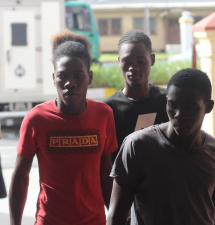 Three remanded to jail over murder of Essequibo newspaper vendor