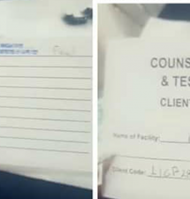 Lola's Georgetown Hospital HIV test card found to be fake; Counselor/Tester under probe