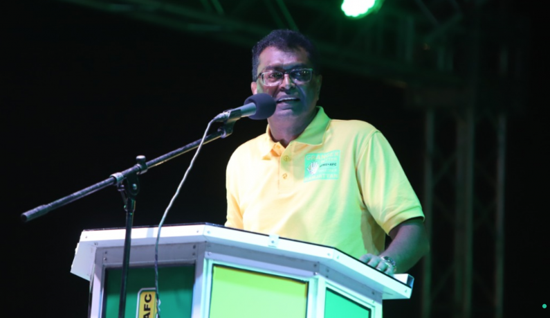 Upcoming Elections come down to a competition over leadership  -Ramjattan tells Linden