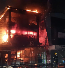 SACHI's destroyed by early morning fire