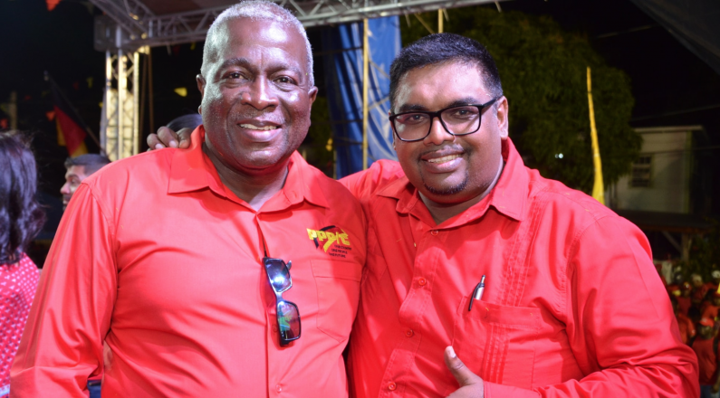 """Ali urges Guyanese to put him to """"fix things"""" in Government ahead of Monday's elections"""