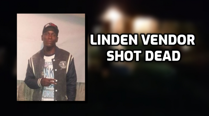 Linden vendor gunned down in front of home