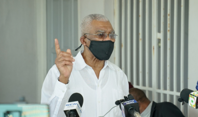 "Guyana will ""reopen"" when pandemic is under control      -President Granger"