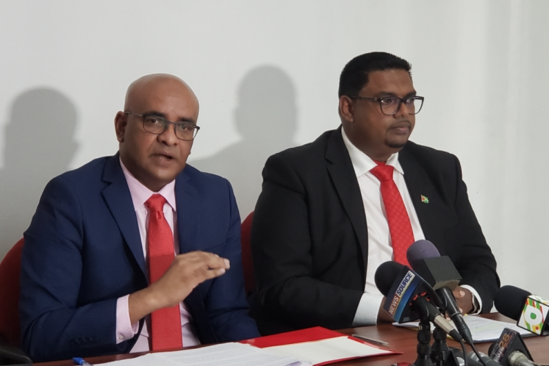 Jagdeo and Ali heading to CCJ  to challenge Court of Appeal ruling