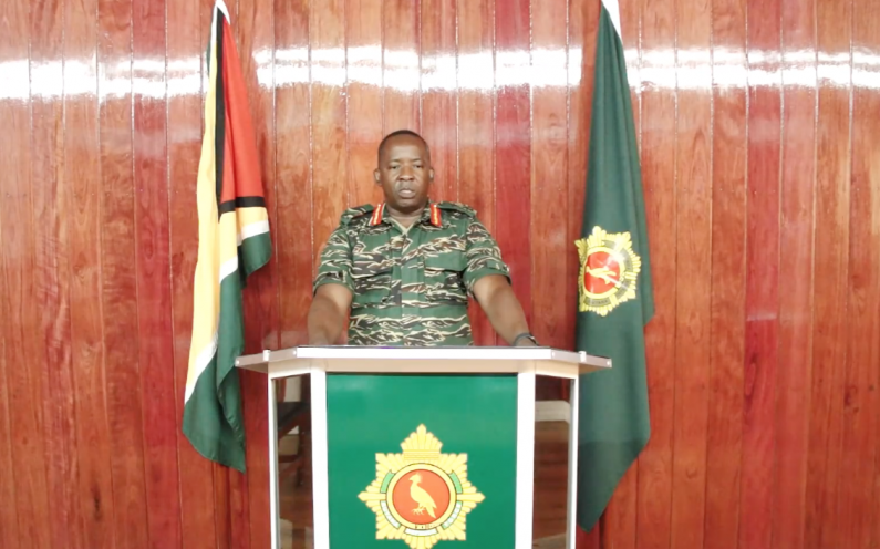 New Chief of Staff calls on officers and ranks to exhibit extraordinary professionalism