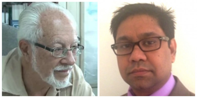 """Nascimento and Singh visit NCN on """"fact-finding"""" mission"""